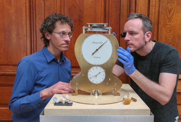 horloge Isospring4 photo Alain Herzog-EPFL