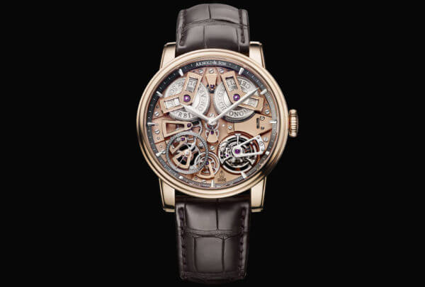 Arnold & Son Chronomètre Tourbillon No 36 or rouge