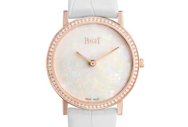Piaget - Montre Altiplano Femme - Or Rose, Opale et Diamants
