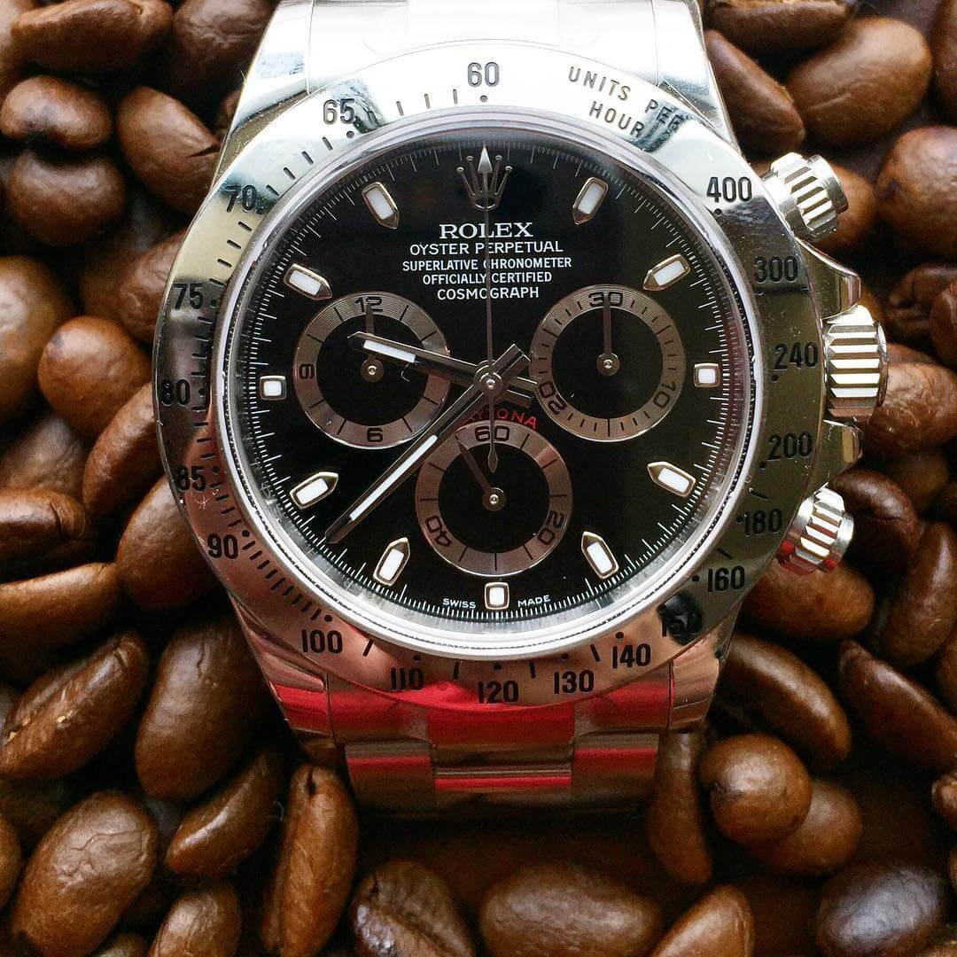 An interview with Rolex Daytona Guy Why the Daytona? \u2013 FHH