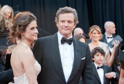 Colin Firth et son épouse, Livia Giuggioli