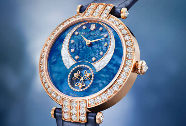 Premier Diamond Second Automatic 36 mm © Harry Winston