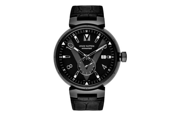Tambour All Black petite seconde © Louis Vuitton