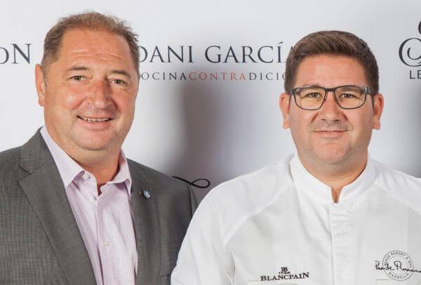 Alain Delamuraz et Dani Garcia