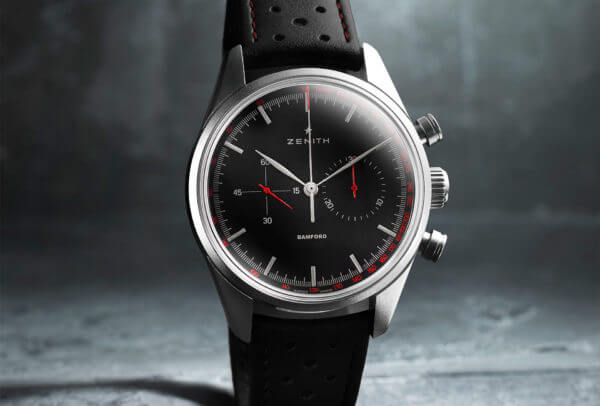 Zenith Heritage 146 Light Grey Grey Red © BWD
