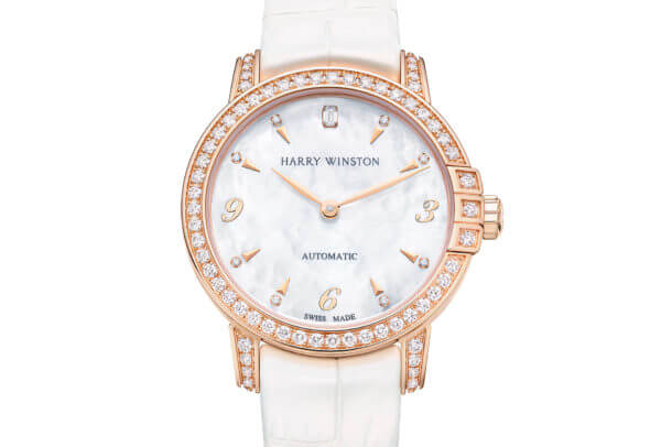 Midnight Automatic 29 mm or rose © Harry Winston