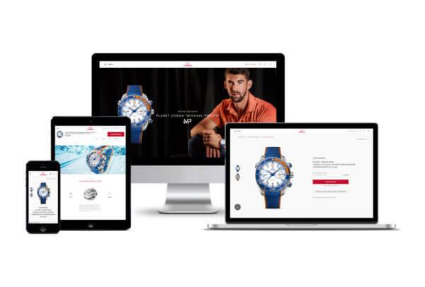 Omega lance sa plateforme de e-commerce