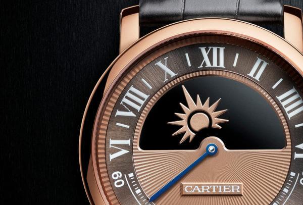 Montre Rotonde de Cartier jour et nuit mystérieux calibre 9982MC