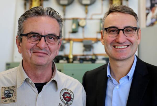 Dominique Renaud et Luiggino Torrigiani © Timm Delfs