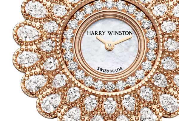 Marquise Time by Harry Winston or rose © Harry Winston
