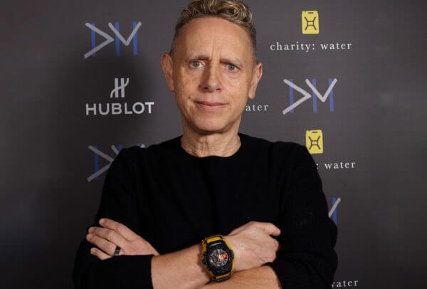 Martin Gore, membre du groupe Depeche Mode