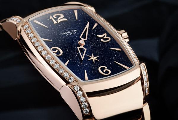 Edition limitée Kalparisma Nova Galaxy de Parmigiani Fleurier. décor aventurine et diamants, calibre automatique PF332
