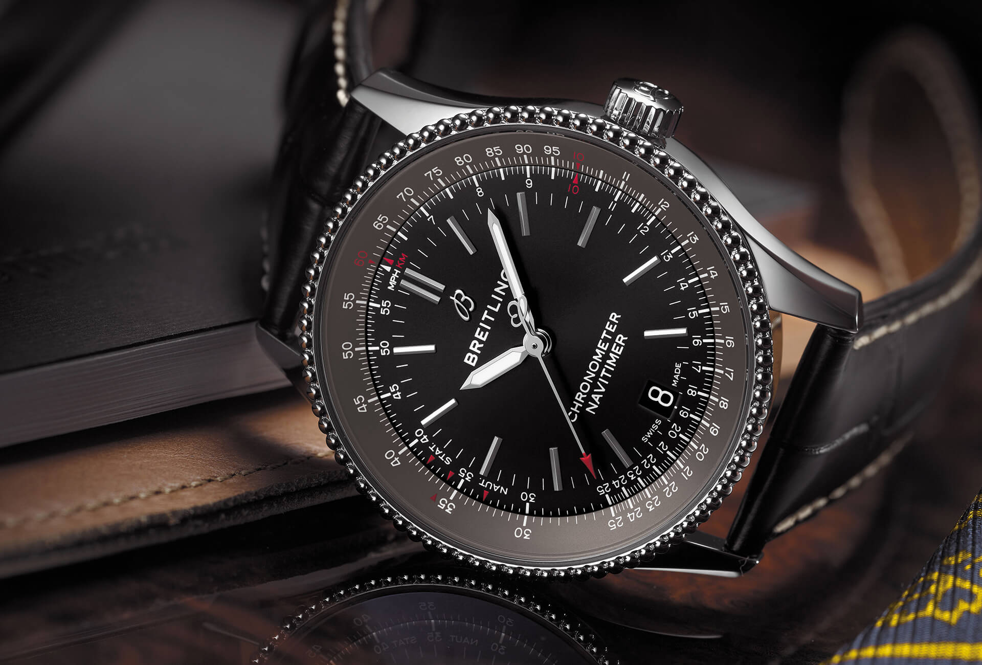 A – Fhh Navitimer Toned-down Breitling Introduces Journal