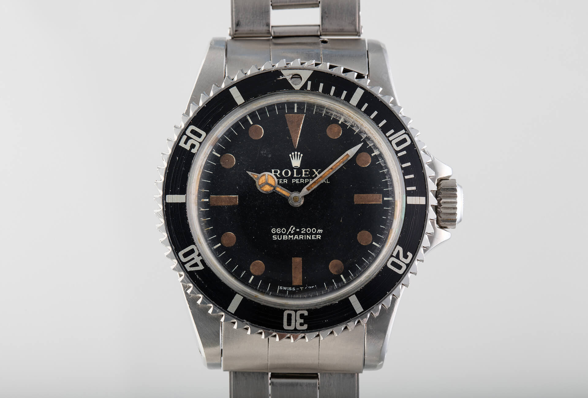 Roger Moore As James Bond Wore This Submariner Ref 5513 Modified By Q
