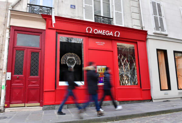 Boutique Omega Pop-Up NATO à Paris
