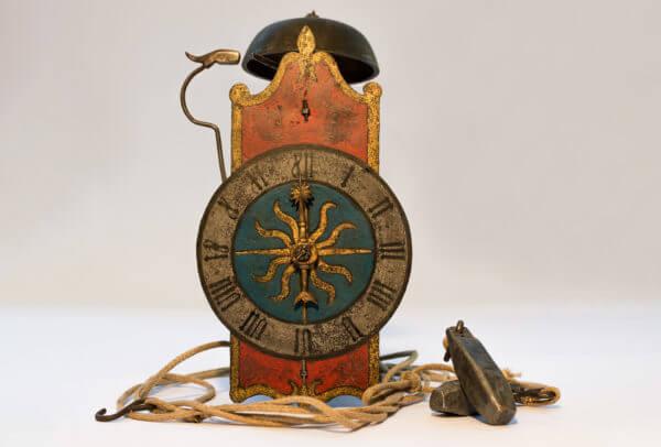 Horloge squelette d'époque Renaissance, Allemagne, vers 1620. Musée de Cluses © Charles Savouret