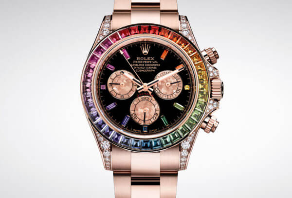 Oyster Perpetual Daytona Rainbow in Everose © Rolex