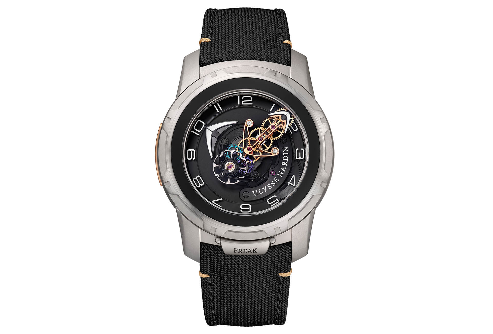 Risultati immagini per Ulysse Nardin Freak Out is the best watch to start the New Year foto