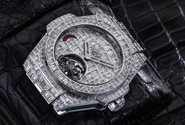 Big Bang Tourbillon Croco High Jewellery © Hublot