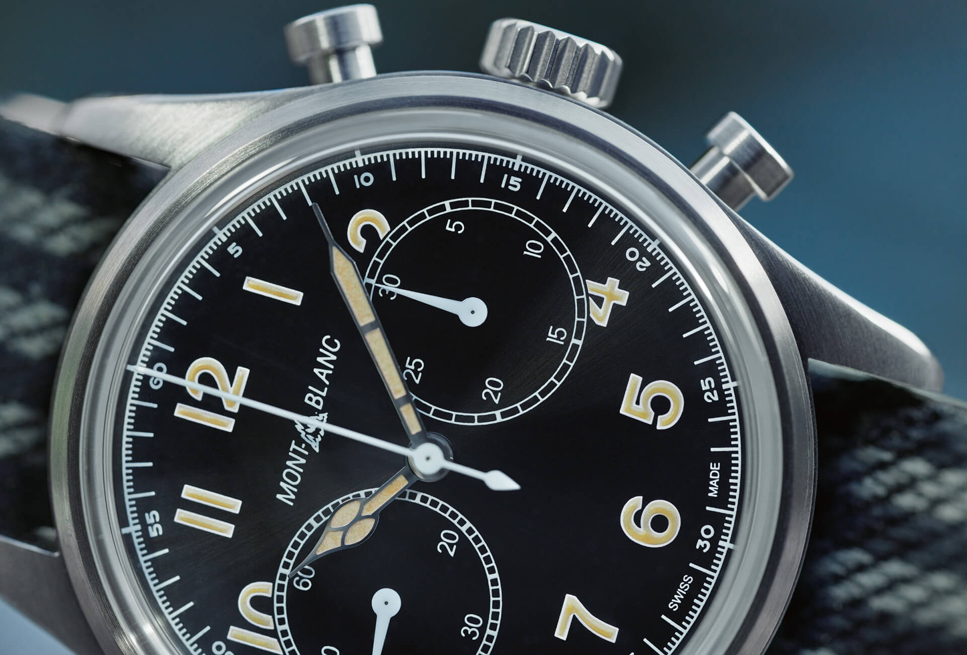 f8db9c4ff16 The art of vintage by Montblanc in the 1858 Automatic Chronograph ...