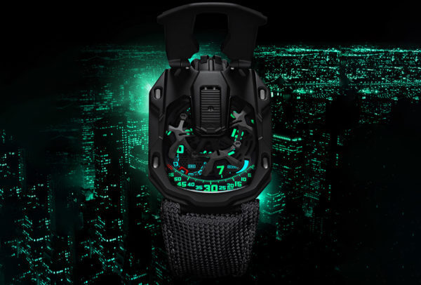 UR-105 CT « Kryptonite » © Urwerk
