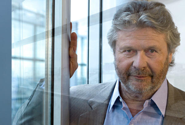 Alain-Dominique Perrin, Président de la Fondation Cartier