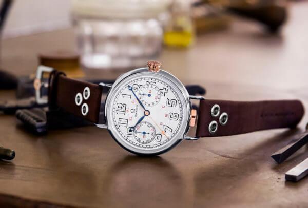 L'édition limitée « Première montre-bracelet Omega » est une nouvelle collection ambitieuse composée de 18 montres, abritant toutes un calibre 18''' CHRO original de 1913