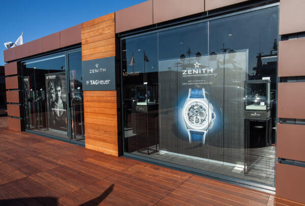 Pop-Up store, Porto Cervo © Zenith