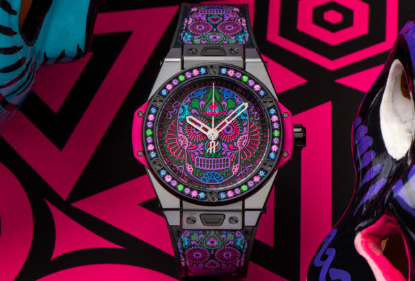 Big Bang One Click Calavera Catrina © Hublot