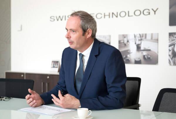 Jérôme Cavadini, directeur de la Manufacture Panerai à Neuchâtel