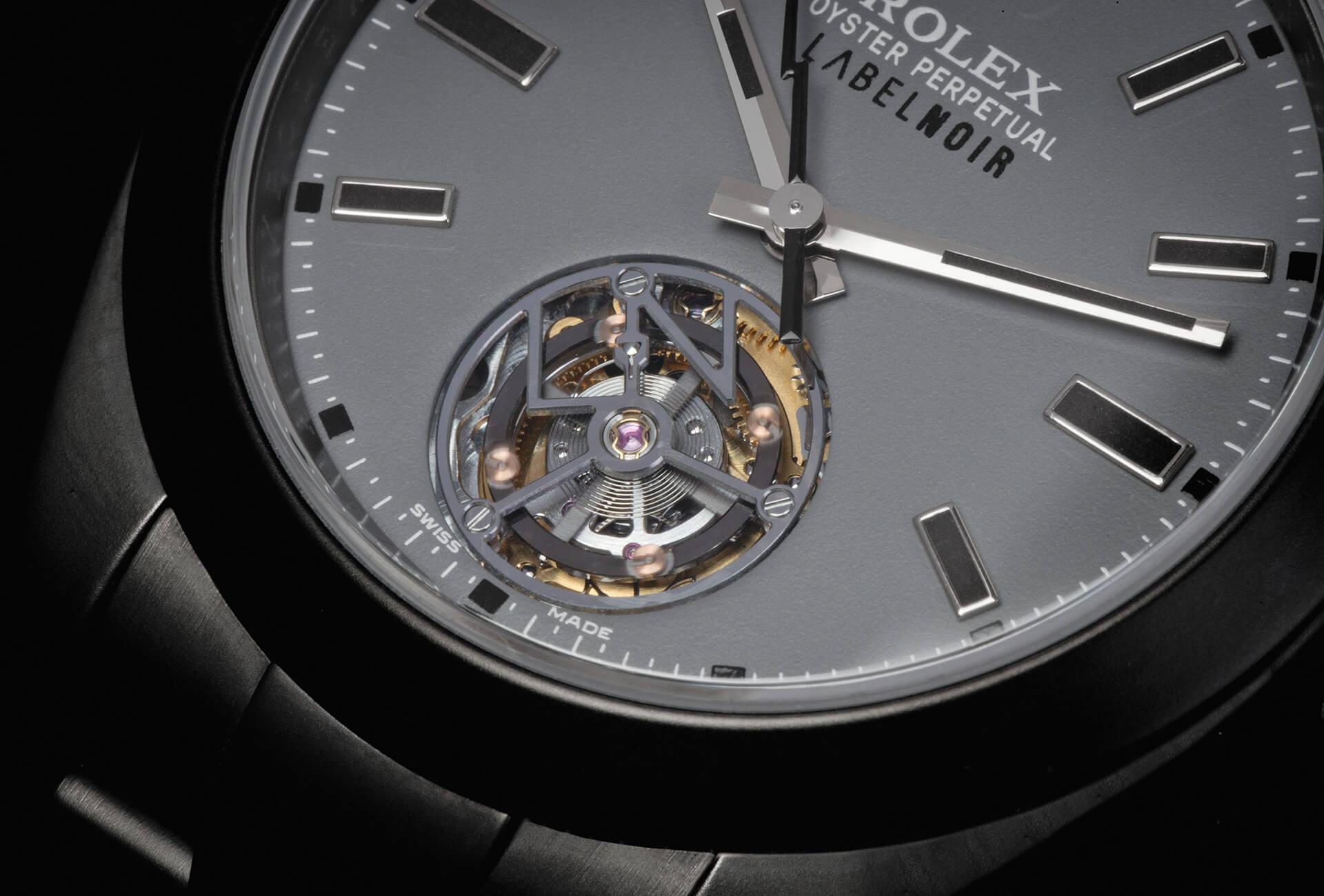 Noir » Configure Rolex Journal Label Fhh Une – « Tourbillon WdBerxoC