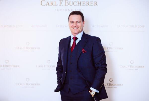 Sascha Moeri CEO - PPRCarl F. Bucherer