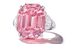 The Pink Legacy - une bague en diamant de couleur sensationnelle