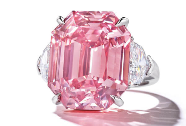 The Pink Legacy - une bague en diamant de couleur sensationnelle
