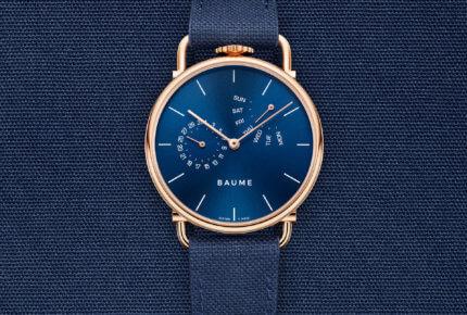 Modèle personnalisé, coton bleu © Baume