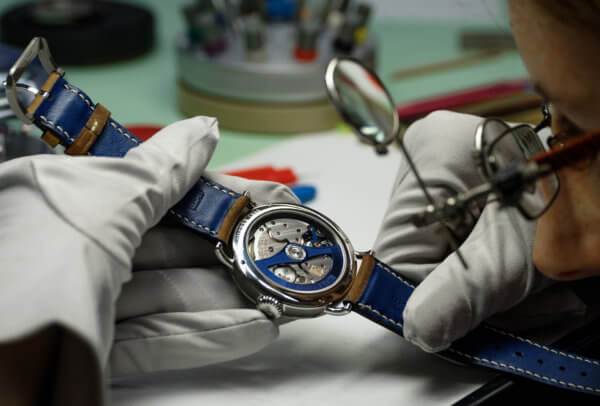 Heritage Bucherer Blue Editions © H. Moser & Cie