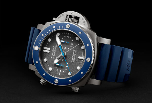 Submersible Chrono – Édition Guillaume Néry © Panerai