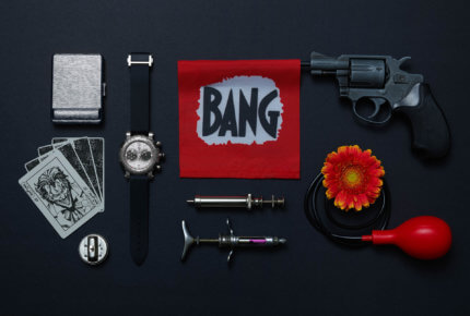 Le chronographe « The Joker », logé dans un boîtier de 45 mm en titane satiné circulaire, est équipé d'un mouvement manufacture automatique de 655 composants. Disponible en 4 versions de 20 exemplaires.