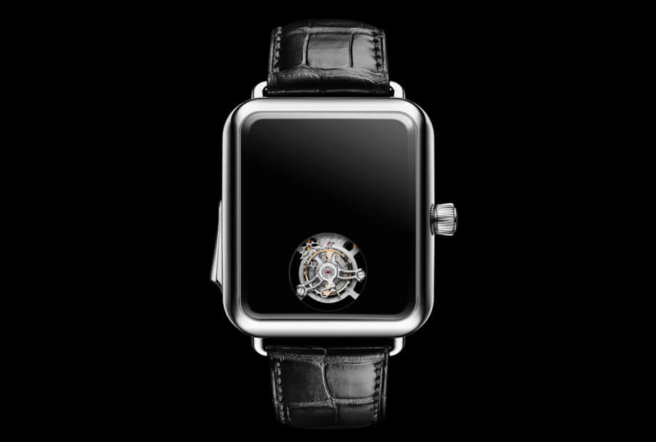 Swiss Alp Watch Concept Black © H. Moser & Cie