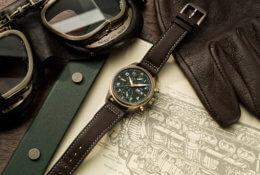 Montre d'aviateur chronographe Spitfire © IWC