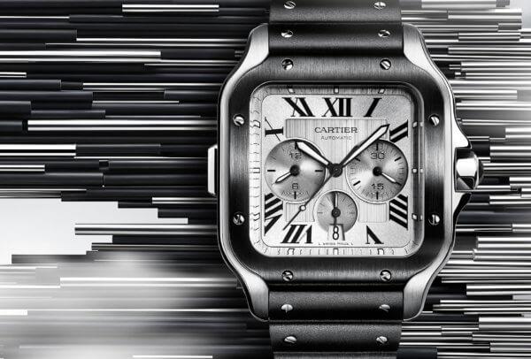 Santos de Cartier chronographe © Cartier