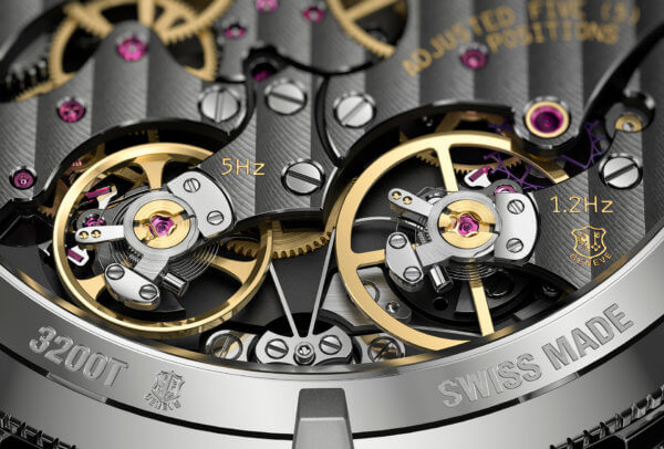 Traditionnelle Twin-Beat © Vacheron Constantin