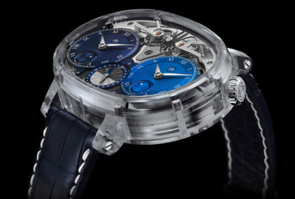 Dual Time Resonance Sapphire Beauty © Armin Strom