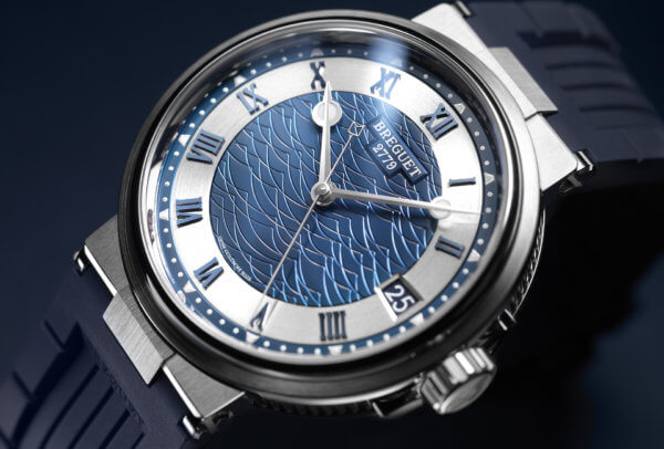 Marine 5517 Bucherer Blue Editions © Breguet