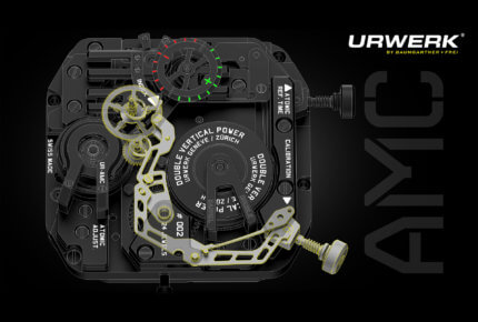 AMC caliber (calibration of the second) © Urwerk
