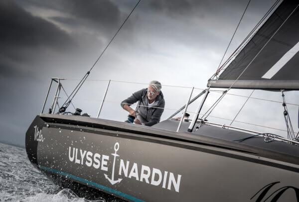 Dan Lenard sur le voilier Ulysse Nardin © Tom van Oossanen