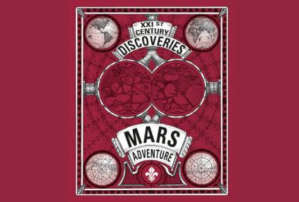 Affiche «Mars adventures» © Louis Moinet