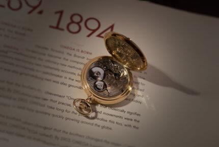 Montre de poche demi-savonnette «125th Anniversary Edition» © Omega
