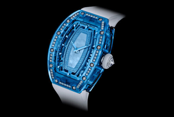 Richard Mille RM 07-02 Gemset Sapphire © Philippe Louzon