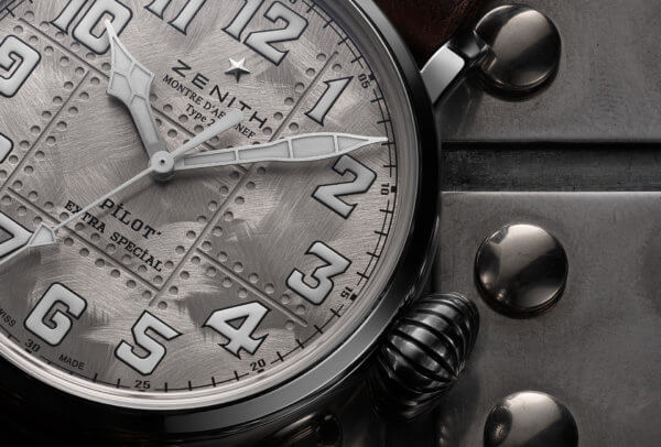 Pilot Type 20 Extra Special Silver © Zenith
